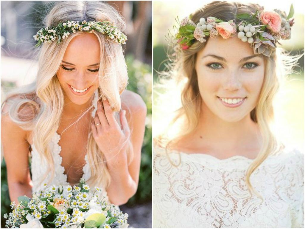 Wedding Flower Crown | newhairstylesformen2014.com
